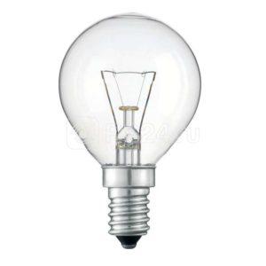 Лампа накаливания ДШ 40Вт E14 (верс.) Лисма 321600300327301200