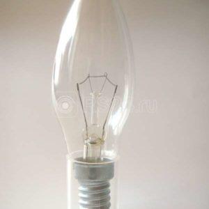 Лампа накаливания ДС 60Вт E14 (верс.) Лисма 327302200