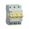Выключатель-разъединитель трехпозиционный 3п ВРТ-63 25А ИЭК MPR10-3-025