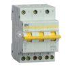 Выключатель-разъединитель трехпозиционный 3п ВРТ-63 32А ИЭК MPR10-3-032