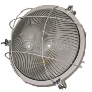 Светильник НПП 03-100-006 1х100Вт E27 IP65 с решеткой Владасвет СТЗ 10120
