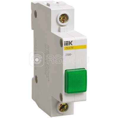 Лампа сигнальная ЛС-47М зел. ИЭК MLS20-230-K06