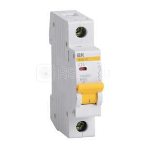 Выключатель автоматический модульный 1п C 32А 4.5кА ВА47-29 ИЭК MVA20-1-032-C