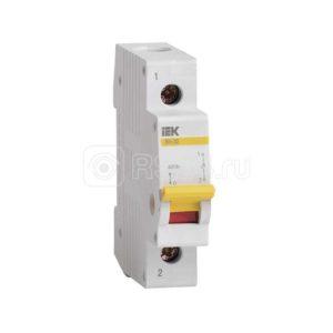 Выключатель нагрузки ВН-32 32А/1П ИЭК MNV10-1-032