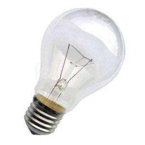 Лампа накаливания Б 75Вт E27 230-230В (верс.) Лисма 304169500304306300
