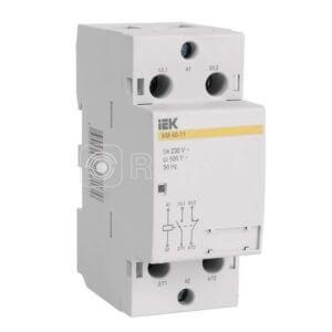 Контактор модульный КМ40-20 40А/2п AC ИЭК MKK10-40-20