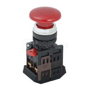 "Кнопка AEA-22 ""Грибок"" красн. 1з+1р ИЭК BBG30-AEA-K04"