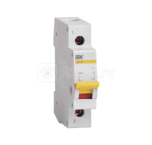 Выключатель нагрузки ВН-32 25А/1П ИЭК MNV10-1-025