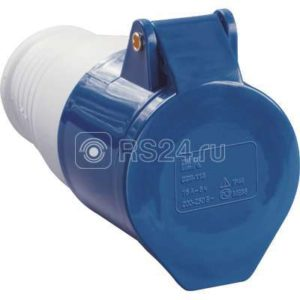 Розетка кабельная 32А 220В 2P+PE ССИ-223 IP44 ИЭК PSR21-032-3