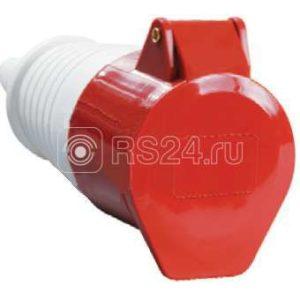 Розетка кабельная 32А 380В 3P+PЕ+N ССИ-225 IP44 ИЭК PSR22-032-5