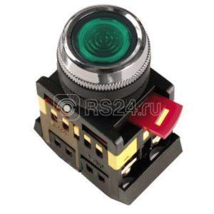 Кнопка ABLFS-22 зел. 1з+1р ИЭК BBT30-ABLFS-K06