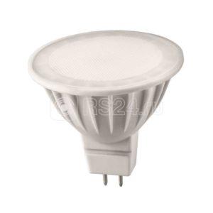 Лампа светодиодная 71 641 OLL-MR16-7-230-4K-GU5.3 7Вт 4000К белый GU5.3 480лм 176-264В ОНЛАЙТ 71641