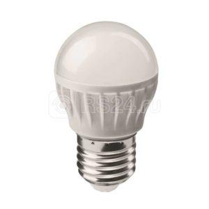Лампа светодиодная 71 645 OLL-G45-6-230-2.7K-E27 6Вт шар 2700К тепл. бел. E27 450лм 176-264В ОНЛАЙТ 71645