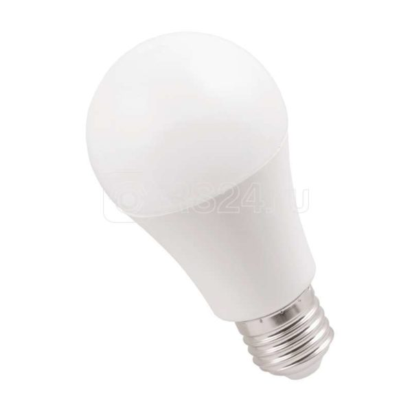Лампа светодиодная ECO A60 9Вт грушевидная 3000К тепл. бел. E27 810лм 230-240В ИЭК LLE-A60-9-230-30-E27
