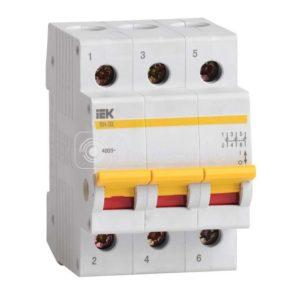 Выключатель нагрузки ВН-32 25А/3П ИЭК MNV10-3-025