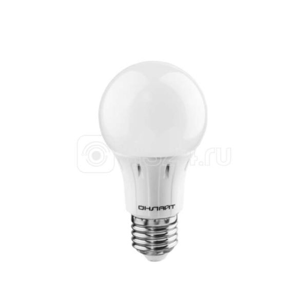 Лампа светодиодная 61 150 OLL-A60-15-230-4K-E27 грушевидная ОНЛАЙТ 61150
