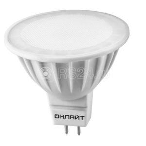 Лампа светодиодная 61 890 OLL-MR16-10-230-4K-GU5.3 ОНЛАЙТ 61890