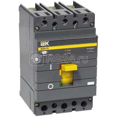 Выключатель автоматический 3п 160А ВА 88-35 ИЭК SVA30-3-0160-R