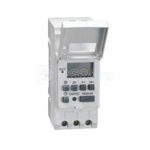 Таймер цифровой ТЭ-15 16А 230В на DIN-рейку ИЭК MTA10-16