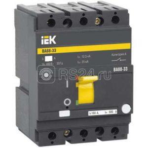 Выключатель автоматический 3п 125А ВА 88-33 ИЭК SVA20-3-0125-R