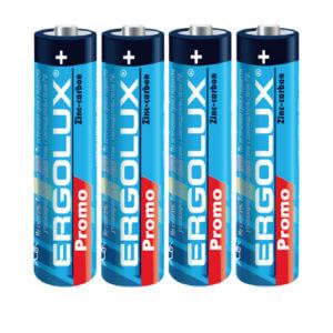 Батарейка Ergolux  R03  SR4 PROMO (SR3 PR. 1.5В)  ААA