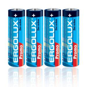 Батарейка Ergolux  R6  SR4 PROMO (SR6 PR. 1.5В)  АА