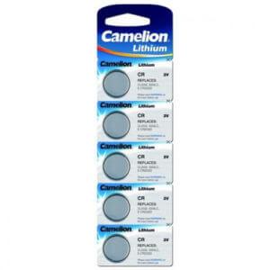 Camelion CR2025 BL-5 (CR2025-BP5, батарейка литиевая,3V) табл.