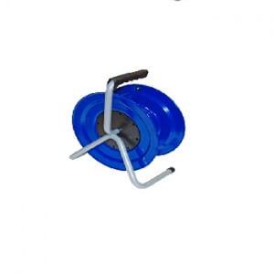 Катушка с накладкой d270 пустая синяя для газонокосилки