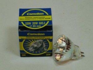 Camelion MR11 JCDR GU5.3 220V 20W  35mm