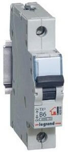 Legrand TX3 Автоматический выключатель 1/50А