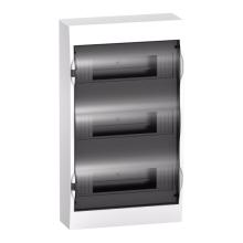 Schneider electric бокс 36 мод. наружный,прозрачная дверь IP40 63А