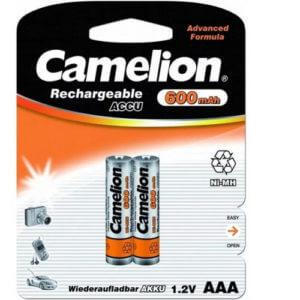 Camelion   AAA- 600mAh Ni-Mh BL-2 (NH-AAA 600 BP2, аккумулятор,1.2В)