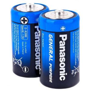 Panasonic солевая   R20  Gen.Purpose батарейка (уп.24/480)