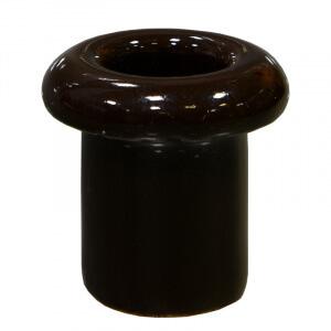 BIRONI втулка пластик коричневый