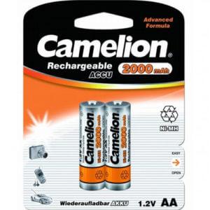 Camelion   AA-2000mAh Ni-Mh BL-2 (NH-AA 2000 BP2, аккумулятор,1.2В)