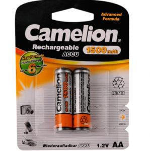 Camelion   AA-1500mAh Ni-Mh BL-2 (NH-AA 1500 BP2, аккумулятор,1.2В)
