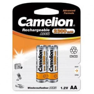 Camelion  AA-2200mAh Ni-Mh BL-2 (NH-AA 2200 BP2, аккумулятор,1.2В)