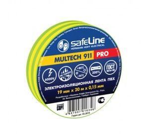 Изолента Safeline 19/20 желто-зеленый