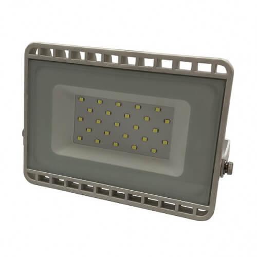 LEDS POWER светодиодный прожектор 20W SMD 6000K плоский белый