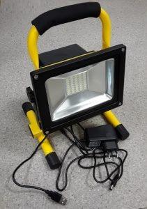 AVD-Led светодиодный прожектор на подставке аккумуляторный (4 часа) COB 20W