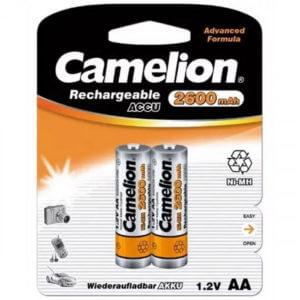 Camelion  AA-2500mAh Ni-Mh BL-2 (NH-AA 2600 BP2, аккумулятор,1.2В)
