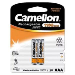 Camelion   AAA-1100mAh Ni-Mh BL-2 (NH-AAA 1100 BP2, аккумулятор,1.2В)