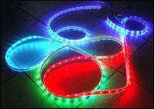 Лента светодиодная 14.4W силикон IP65 RGB
