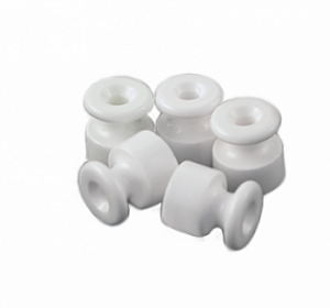 Bironi изолятор, фарфор, белый