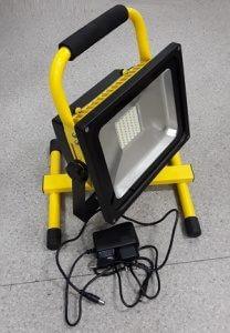 AVD-Led светодиодный прожектор на подставке аккумуляторный (4 часа) COB 30W