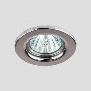 Эра светильник штампованный MR16 хром