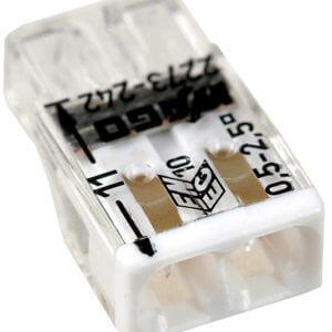 WAGO клемма с пастой на 2 провода