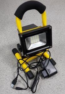 AVD-Led светодиодный прожектор на подставке аккумуляторный (4 часа) COB 10W