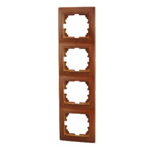 Lezard MIRA рамка 4-я вертикаль Сосна
