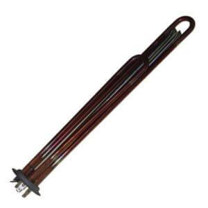 Нагрев. элемент (ТЭН) медь тип верт 2500Вт/220в/М6/55+75см.(зам. 65150721)